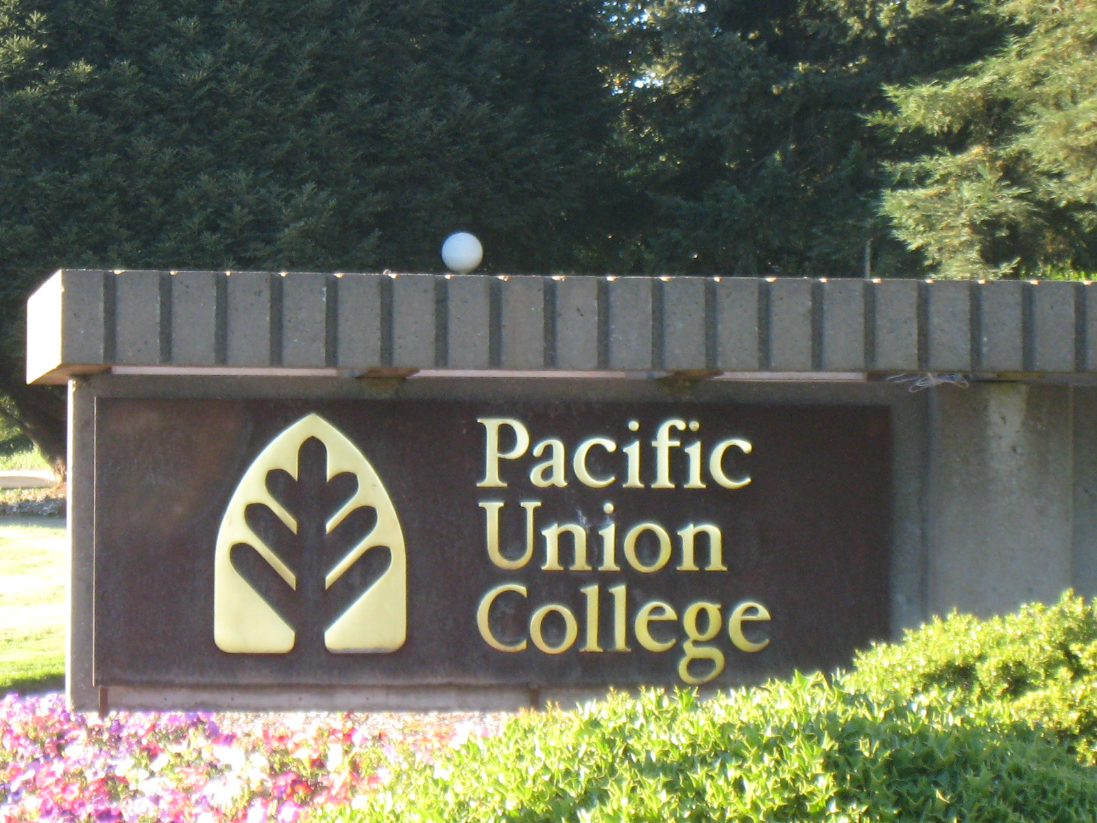 Pacific_Union_College_Sign_2008